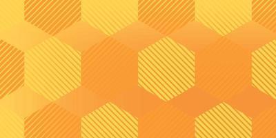 fundo gradiente de forma geométrica, cores amarelas moldam design moderno. vetor