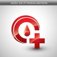 símbolo médico vetor