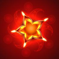 feliz Diwali vetor