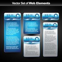 banner de exibição de web de vetor com espaço para seu texto