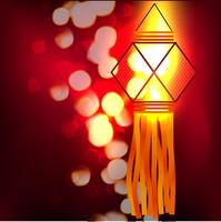 lâmpada brilhante vetor