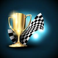 vetor de troféu