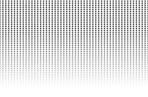 fundo preto e branco vintage padrão de bolinhas. elemento de design para plano de fundo, cartazes, cartões, papéis de parede, cenários, painéis - ilustração vetorial vetor