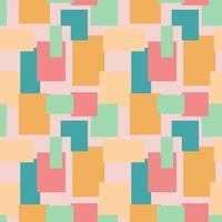 plano de fundo sem emenda com quadrados e retângulos. plano de fundo para design, tecido, papel, papel de parede, vitrine. vetor