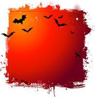 Fundo de grunge de Halloween vetor