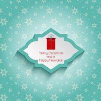 feliz Natal e ano novo fundo 1010 vetor
