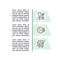 como ganhar dinheiro em ações ícones de linha de conceito com texto vetor