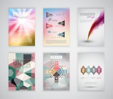 Modelos de brochura / panfleto