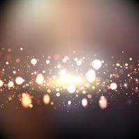 Luzes abstratas de fundo vetor