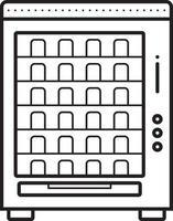 ícone de linha para venda vetor
