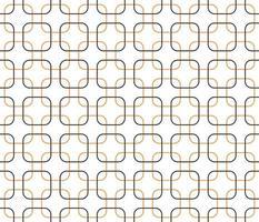 forma geométrica quadrada de padrão sem emenda, melhor usada para papel de parede, plano de fundo, impressão, decoração de casa. vetor