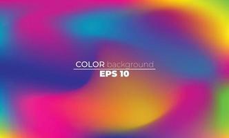 fundo de malha de gradiente desfocado abstrato em cores brilhantes de verão vetor