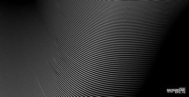 fundo abstrato, modelo de vetor para suas ideias, textura de linhas monocromáticas, textura de linhas onduladas