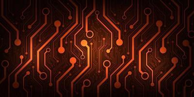 projeto no conceito de placas de circuito eletrônico. vetor