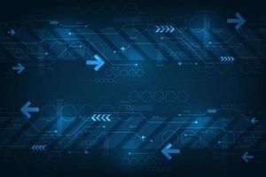 operação de sistemas digitais que estão transferindo dados. vetor