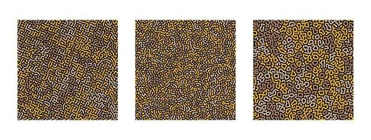 coleção de turing padrão abstrato sem emenda. vetor