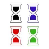 ícone de cisterna em fundo branco vetor