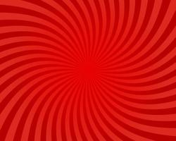 fundo abstrato da luz solar. fundo de explosão de cor vermelha. ilustração vetorial. papel de parede padrão de raio de raio de sol sunburst. pano de fundo do circo retrô. pôster vintage ou cartaz vetor