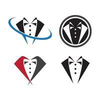 imagens do logotipo do smoking vetor