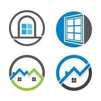 imagens do logotipo da casa vetor
