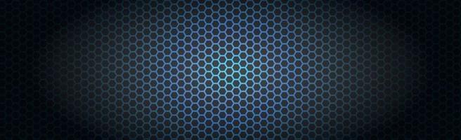 ferro perfurado azul com reflexos brancos vetor