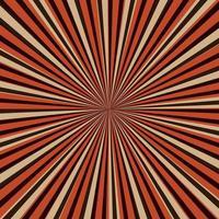 imagem abstrata, raios de sol em um fundo vermelho vetor