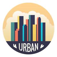 Paisagem urbana vetor