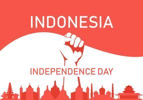 Indonésia Prid vetor