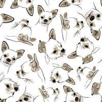 fundo branco transparente com um cachorro vetor