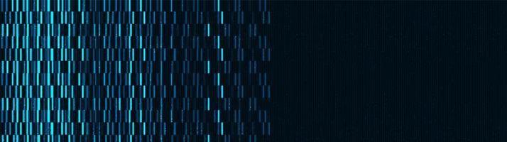 fundo de tela digital panorâmica vetor