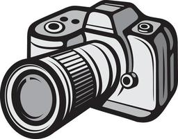 câmera fotográfica digital vetor
