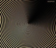 abstrato ouro luxuoso cor vetor círculo fundo de meio-tom. design de padrão de linha retro gradiente, gráfico dourado, decoração moderna para sites, cartazes, banners, vetor modelo eps10