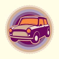Emblema do carro vetor
