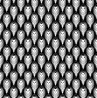 desenho de padrão de penas de pavão vetor