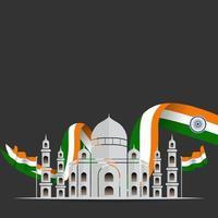 dia da república da índia vetor