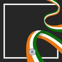 ilustração do feliz dia da república da índia vetor