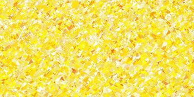 padrão de vetor amarelo claro com estilo poligonal.