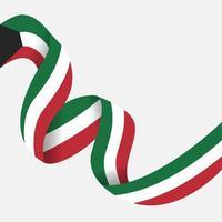 celebração do dia nacional kuwait vetor