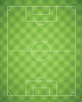 fundo realista de futebol coberto com marcações - vetor