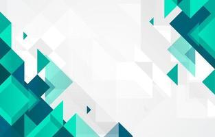 fundo geométrico abstrato em design plano vetor