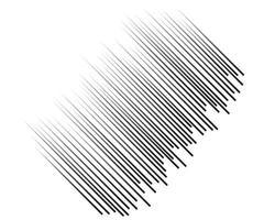 linhas de velocidade voando com partículas padrão sem emenda, textura gráfica de manga de selo de luta, linhas horizontais de velocidade de quadrinhos em fundo branco vetor