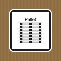 ppe icon.stack corretamente símbolo de sinal isolado em fundo branco, ilustração vetorial eps.10 vetor