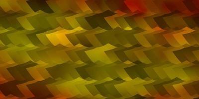 fundo vector laranja claro com conjunto de hexágonos.