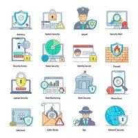 cibersegurança e tecnologia vetor