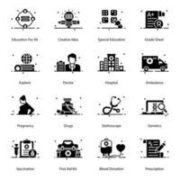 elementos de edifícios e arquiteturas vetor
