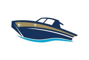 ilustração do projeto do barco vetor