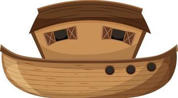 em branco noah ark cartoon estilo isolado vetor