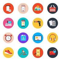 comércio eletrônico e compras vetor