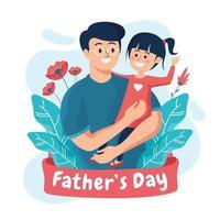 celebração do dia dos pais vetor