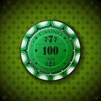 ficha de pôquer novo 0100 vetor